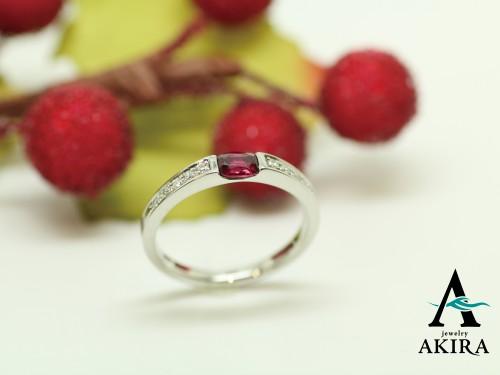 デザインが古くなった指輪をリフォームして娘さんにプレゼント