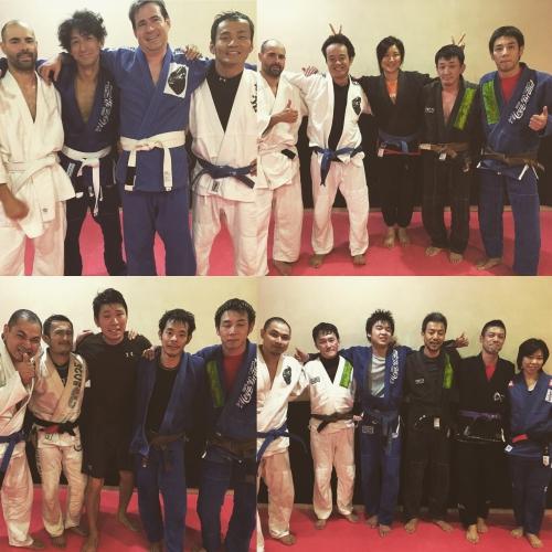 今日のブラジリアン柔術クラス