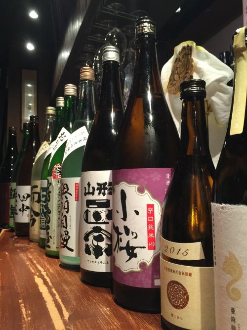 今週入荷の日本酒(新政・山形正宗・而今・鍋島)
