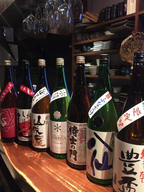 今週入荷の日本酒(豊盃・陸奥八仙・栄光富士・山城屋)