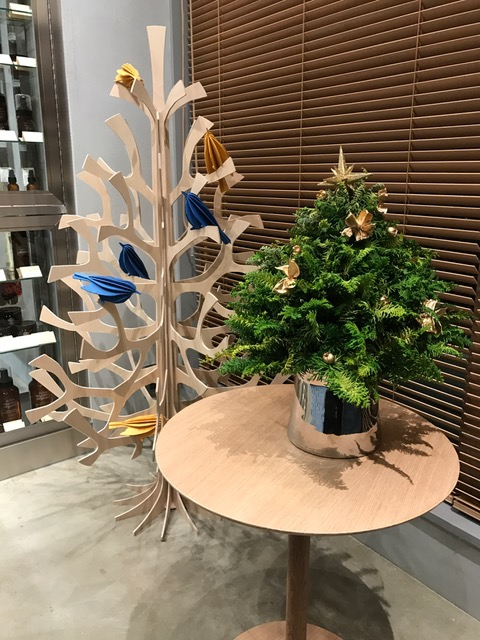 liveのクリスマスツリー