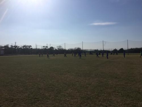 水戸サッカーチームポルターラ1 年生冬合宿
