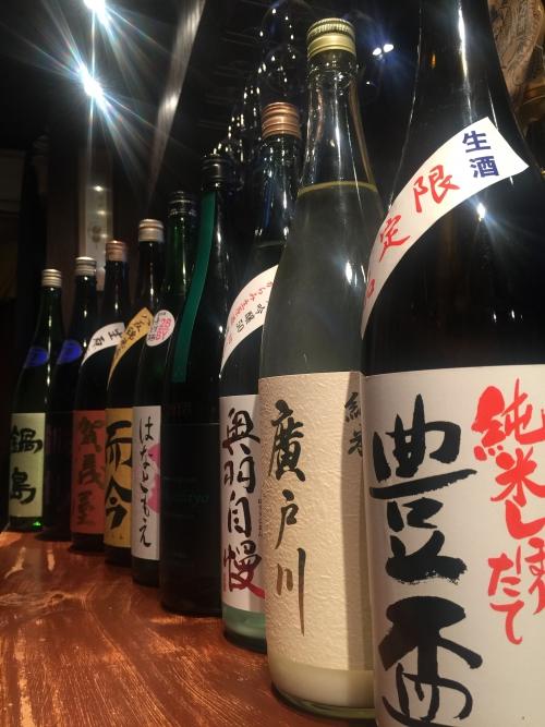 今週入荷の日本酒!(豊盃・高千代・而今・鍋島)