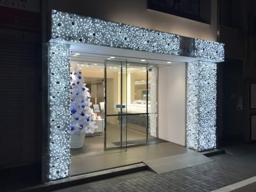 クリスマス装飾 店舗装飾