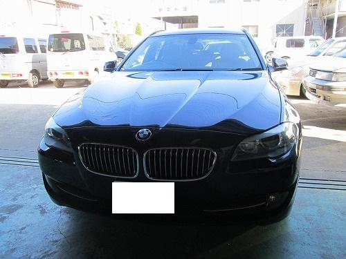内張りの穴を修復(BMW 523i)
