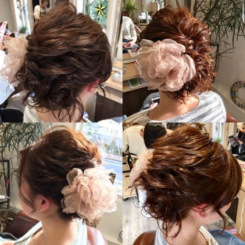 おすすめ人気ヘアセットアレンジ髪型調布美容院
