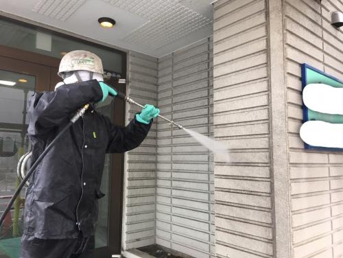 埼玉県戸田市 Pマンション 下地補修工事です。