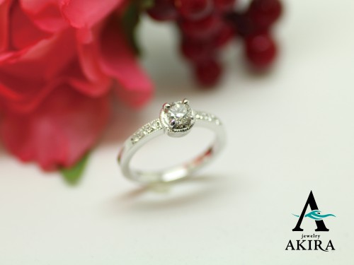 受け継がれる婚約指輪のリフォーム千葉