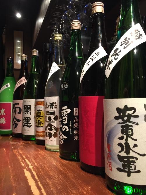 今週入荷の日本酒(雪の茅舎・山形正宗・開運・而今)
