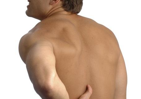 つらい背中から腰にかけての痛みを楽にする