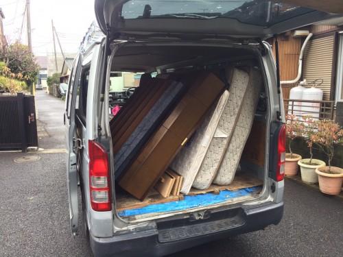 綾瀬市、不用品回収サポート、ベッド、家具家電、格安