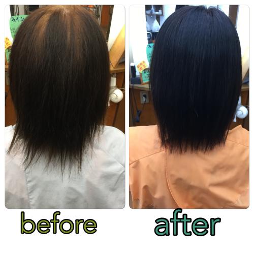 クリニカル酸性縮毛矯正+カラー