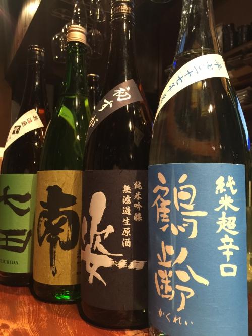 今週入荷の日本酒(鶴齢・姿・南・七田)