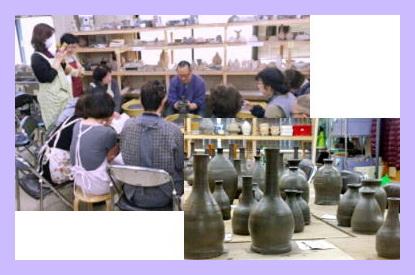 春の登り窯に向けて、備前粘土の集中講座開催 国立けんぼう窯