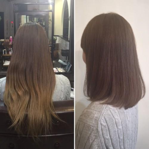オーダー多数♪ 髪質改善ストレート!毎朝のセットが簡単に!!