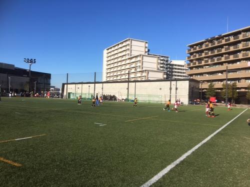 2年生サッカーチーム活動東京遠征