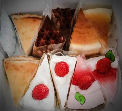 いっぱいのケーキ(°°)・*