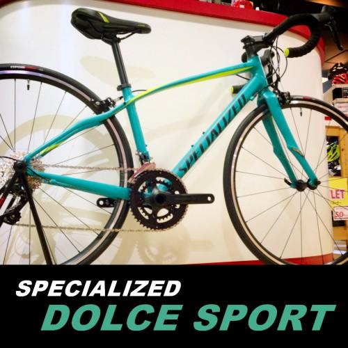 女性用ロードバイク≪スペシャライズド ドルチェ スポーツ≫