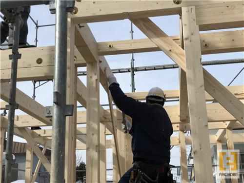 ☆新築戸建物件☆札幌市建築中現場情報を更新!建て方♪