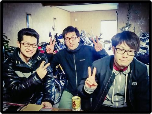 今日は新年会です+゚。*(*´∀`*)*。゚+