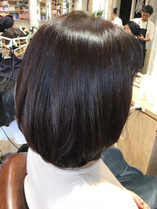 ツヤヘアスタイルおすすめ人気髪型調布美容室