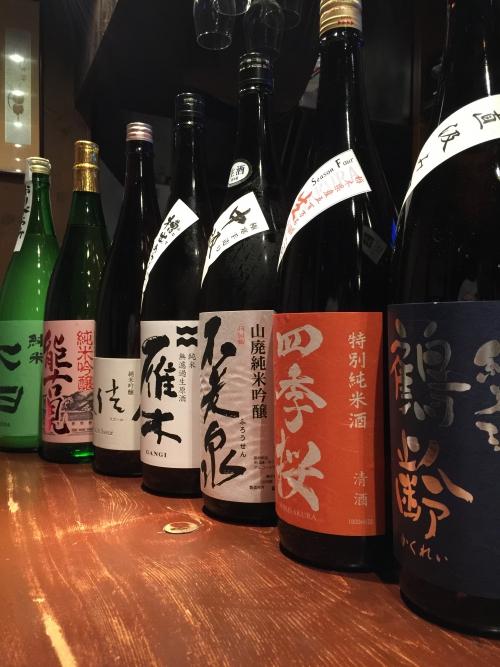 今週入荷の日本酒!(鶴齢・不老泉・雁木・能古見・七田)
