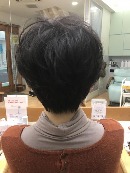 ふんわりポイントパーマ☆  調布美容院