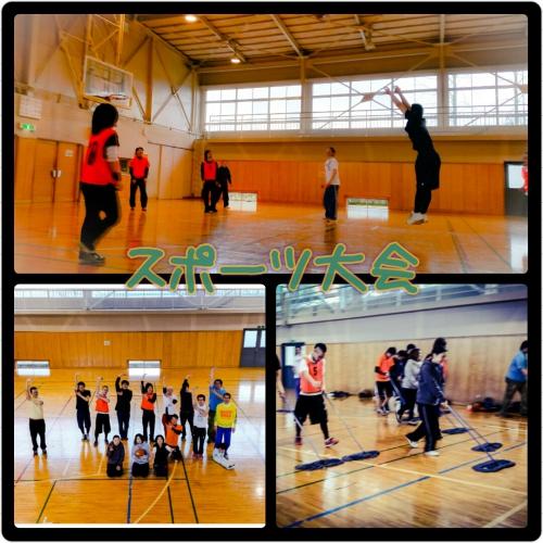 3月スポーツ大会〜バスケットボール〜