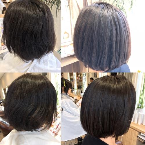 おすすめ人気ツヤストレート髪型調布美容院