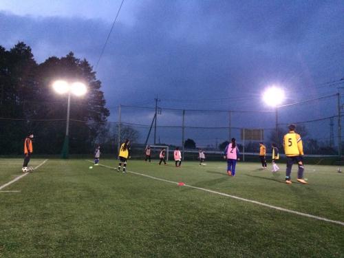 水戸市 女子サッカー 練習会