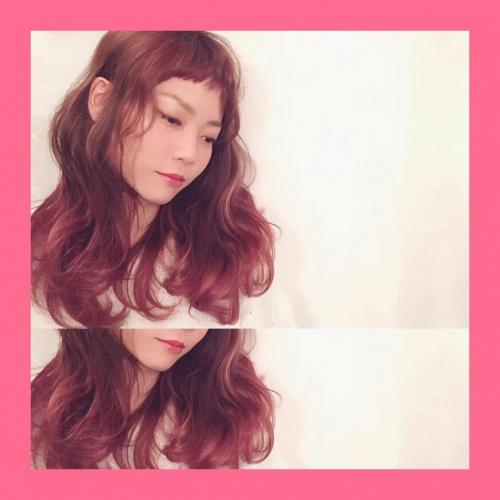 Pink♡グラデーションカラー!カラーモデルさんです!