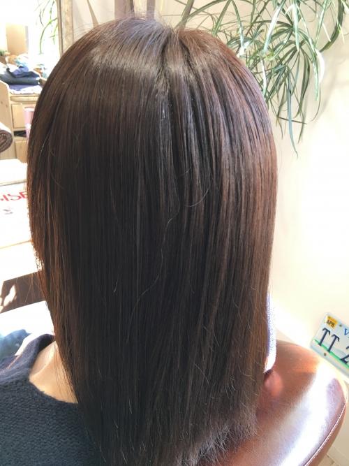 春に人気なカラーリングヘアスタイル調布美容院