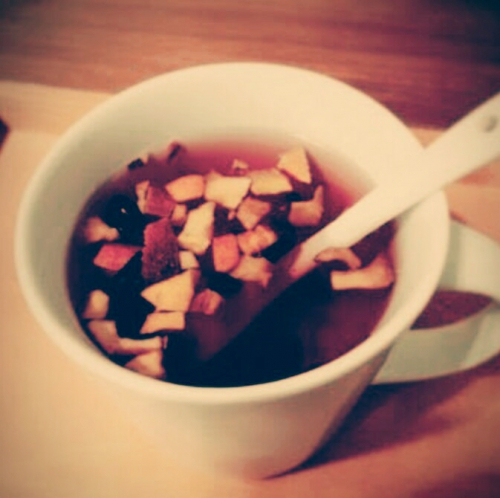 食べられる紅茶