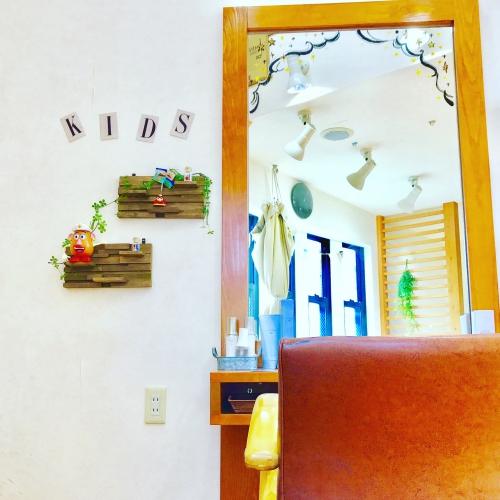 子供カット キッズスペースがある美容院です☆ 調布美容院