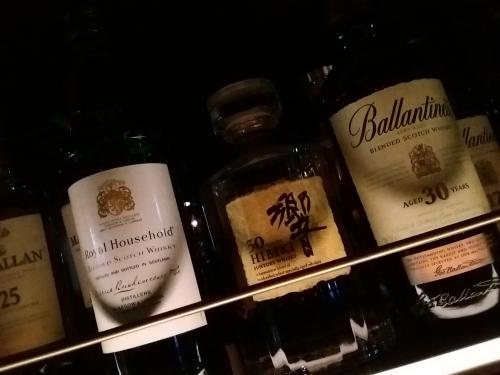 プレミアムなウイスキー飲み比べ
