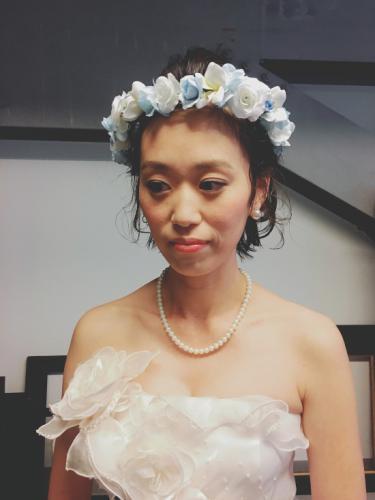 bridal × hairmake