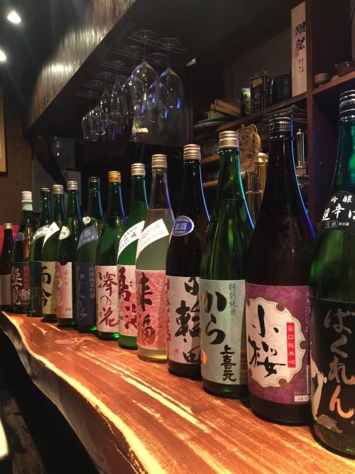 今週入荷の日本酒(ばくれん・日輪田・而今・天吹・鍋島)