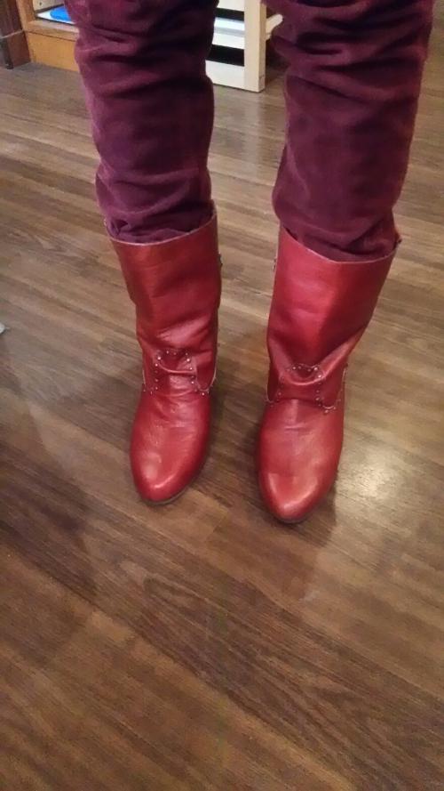靴教室の生徒さんのブーツ