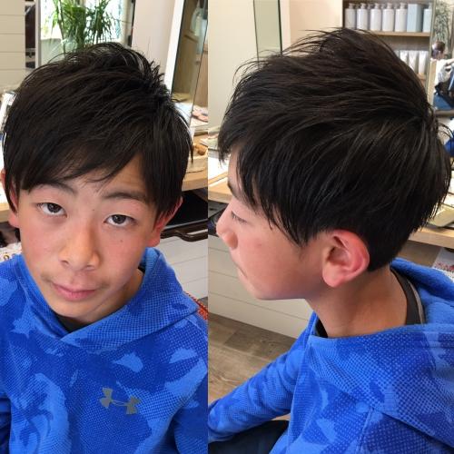 小学生中学生カット人気おすすめ髪型調布美容院