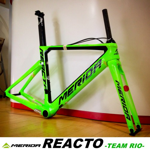 限定フレーム≪MERIDA REACTO TEAM RIO≫