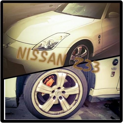 NISSAN  Z33の車検前点検