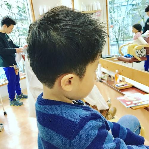 キッズ 子供 カット 大歓迎☆  調布美容院