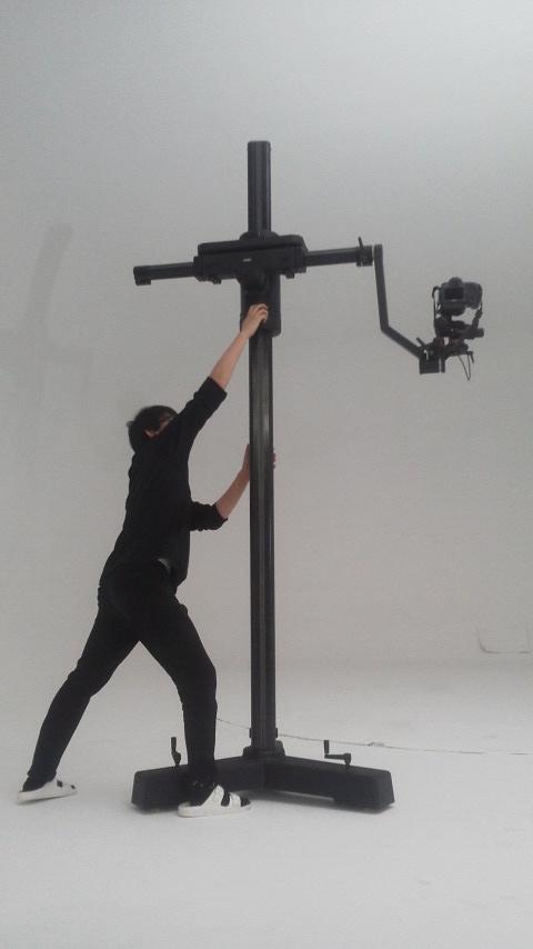 カンボ 大型カメラスタンド 2、7m