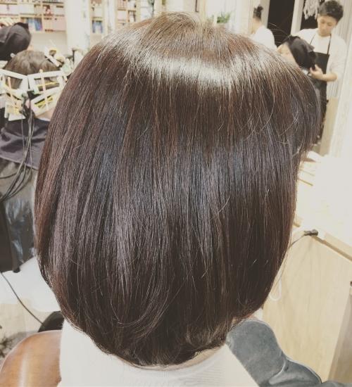 ツヤストレートおすすめ人気髪型調布美容院