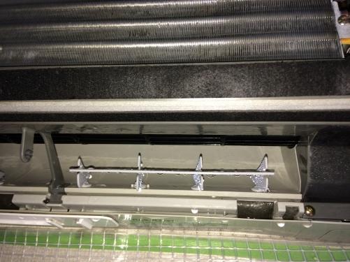 豊島区駒込の加圧スタジオでエアコンクリーニング