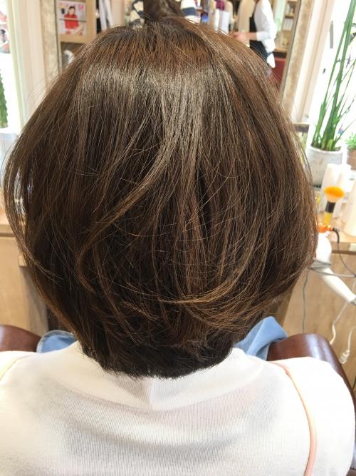 人気ヘアスタイルショートボブ髪型調布美容院