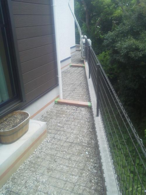保土ヶ谷区でコンクリート工事。