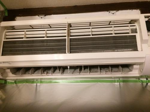 さいたま市浦和区北浦和でエアコンクリーニング