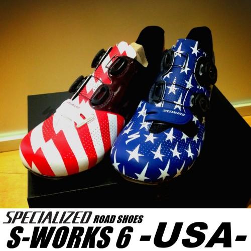 入荷情報≪S-Works 6 Road シューズ USA≫