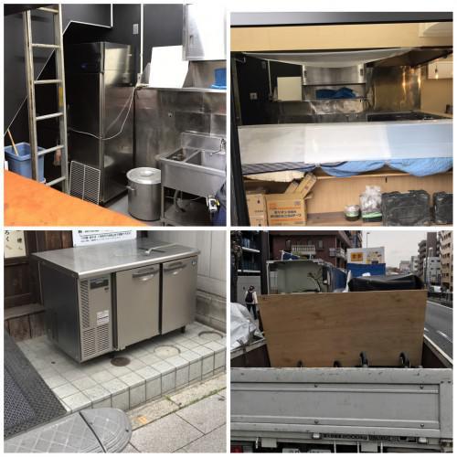 練馬区、運搬作業、搬入搬出、業務用冷蔵庫、大型家電